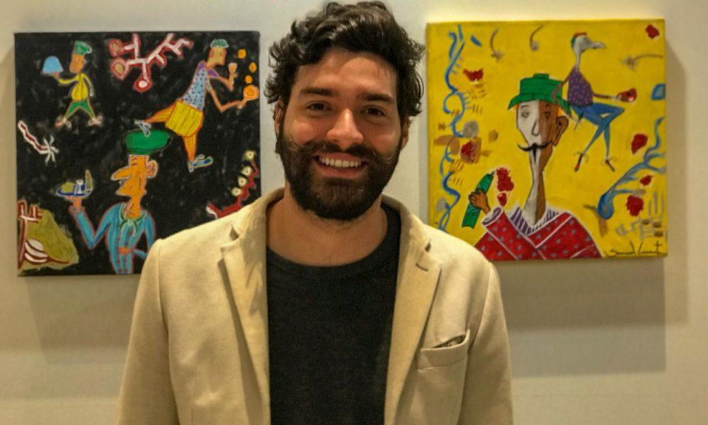 Samuel Caixeta, jovem artista plástico de apenas 23 anos, anuncia duas exposições internacionais na cidade de New York