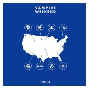 """Banda estadunidense """"Vampire Weekend"""" anuncia roteiro de turné que inicia dia 17 de maio"""