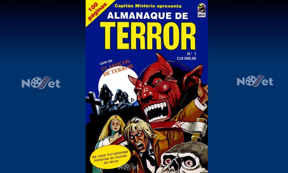 Almanaque de Terror nº 1, série Capitão Mistério Apresenta . Um clássico indiscutível…
