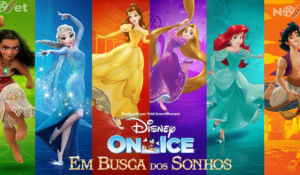 Em Busca dos Sonhos é o espetáculo inédito do Disney on Ice.