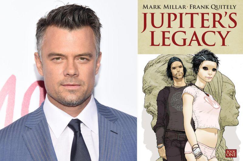"""Netflix confirma o elenco de """"Jupiter's Legacy"""", contando com a presença de Josh Duhamel"""