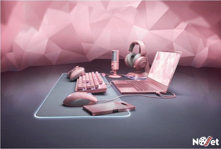 Linha Quartz Pink da Razer agora conta com novo itens