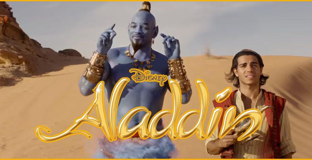 Saiu o primeiro trailer de Aladdin! Diversão garantida no live action da Disney…