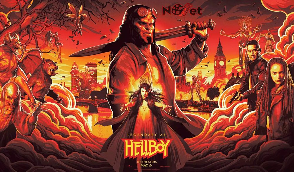 Hellboy (2019): Um Reboot Frio e sem Sal.