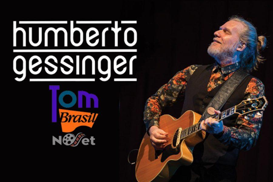 Humberto Gessinger retorna a São Paulo, no palco do Tom Brasil.