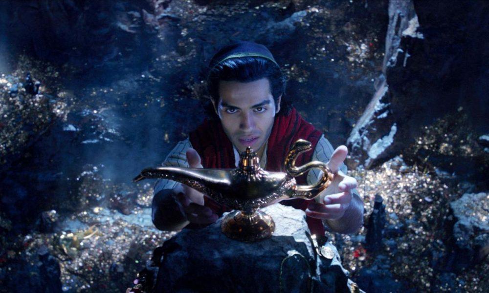 Novo vídeo revela bastidores e opiniões dos astros de Aladdin.