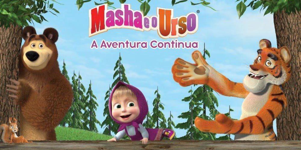 Masha e o Urso: A Aventura Continua no Tom Brasil