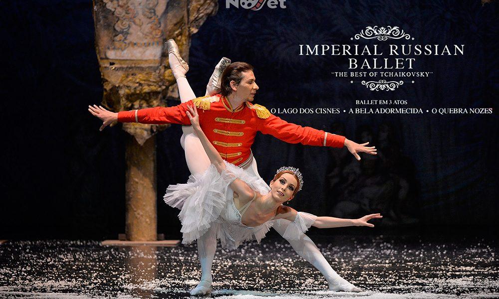 Ballet Imperial da Rússia estreia o inédito The Best of Tchaikovsky (18 e 19 de maio) no Teatro Prevent Senior (Instituto Tomie Ohtake)