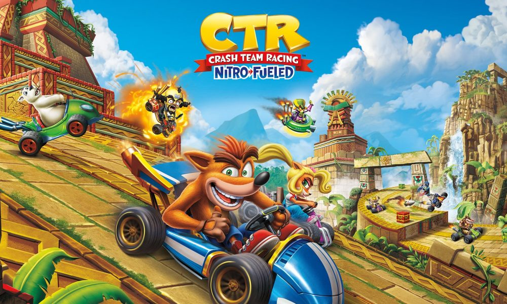 Crash Team Racing Nitro-Fueled é lançado – É hora de ficarem velozes e peludos!