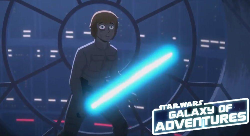 Star Wars – Galaxy of Adventures: Curtas Animados Apresentam a saga de forma divertida para as crianças