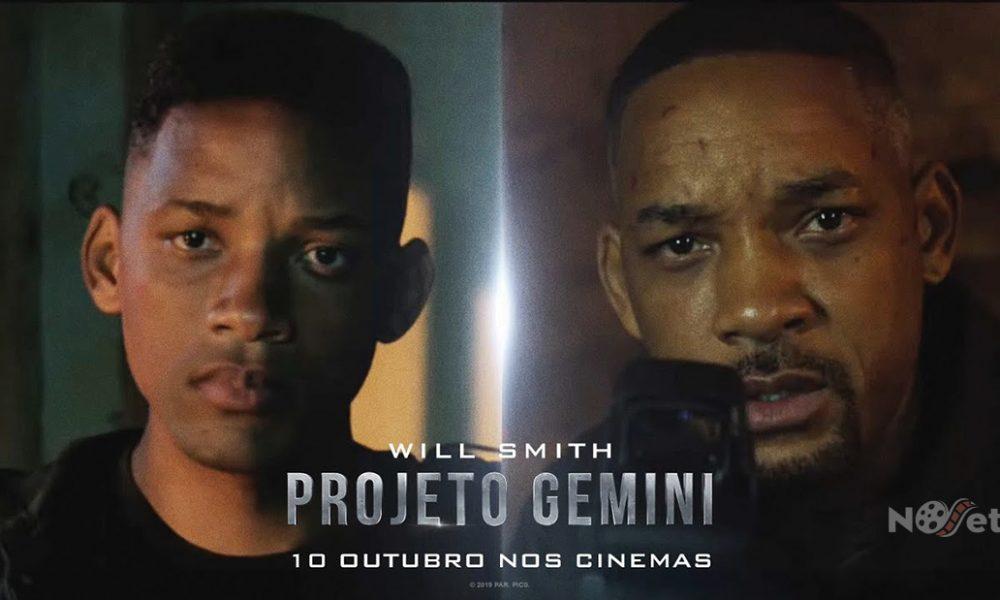 """Paramount Brasil mostra cenas dos bastidores e a tecnologia 3D+ em """"Projeto Gemini""""."""