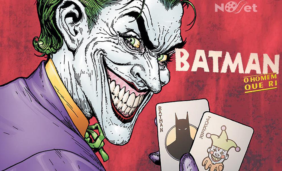 """Batman: o Homem que ri. Uma prévia para o filme """"Coringa""""."""