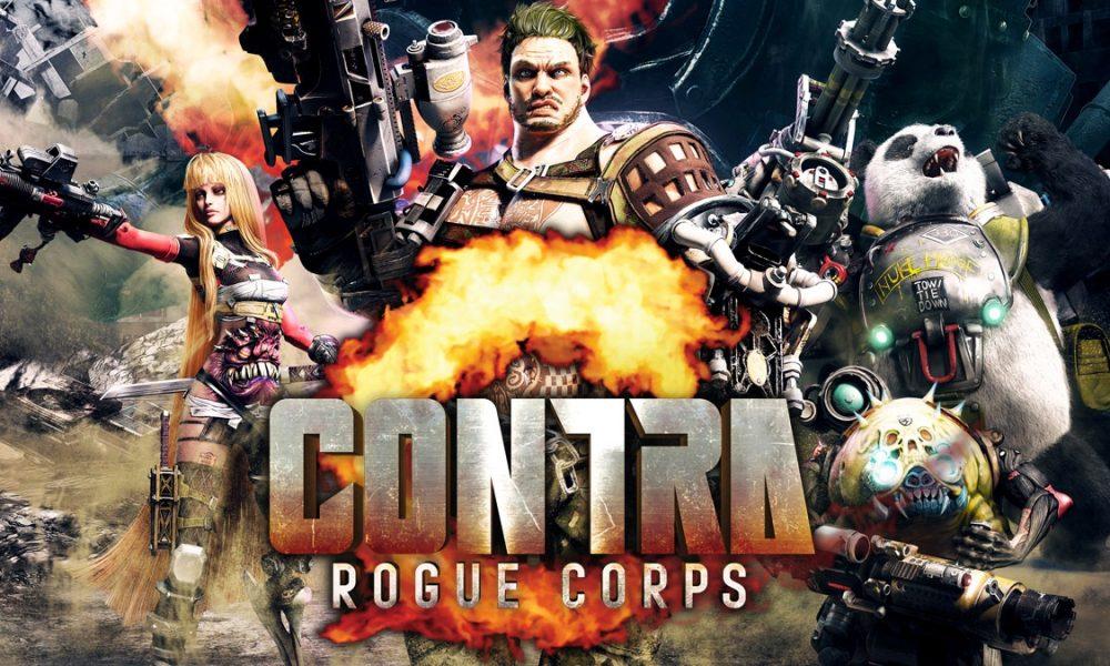 Contra: Rogue Corps já está disponível!
