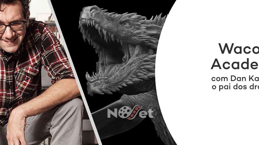 No dia 5 de novembro temos um encontro com Dan Katcher, o criador dos dragões de Game of Thrones