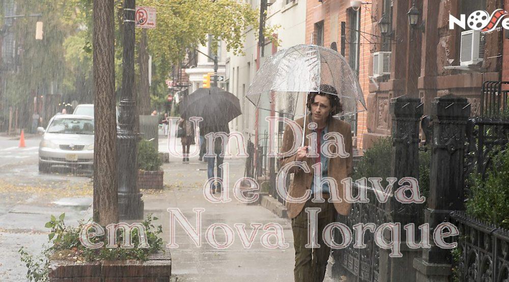 Um dia de chuva em Nova York. A vida comum ainda é encantadora e mágica.