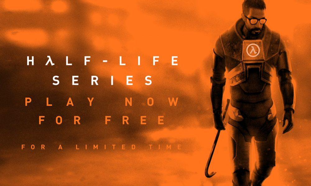 Saga Half-Life gratuita até o lançamento de  Half-Life: Alyx