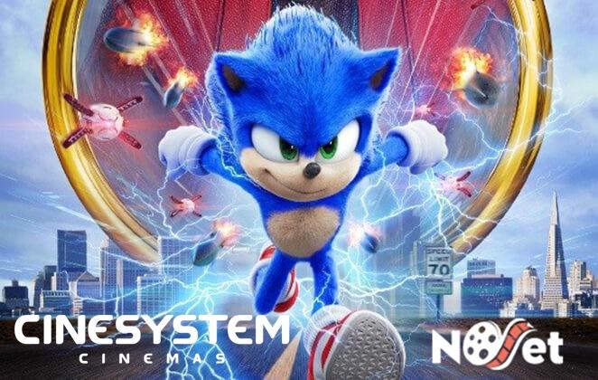 Sonic dispara no ranking das bilheterias em seu fim de semana de estreia e bate recorde mundial