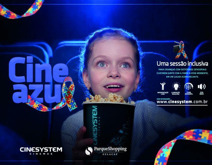 Cinesystem: Traz sessões de cinema especiais para crianças com distúrbios sensoriais