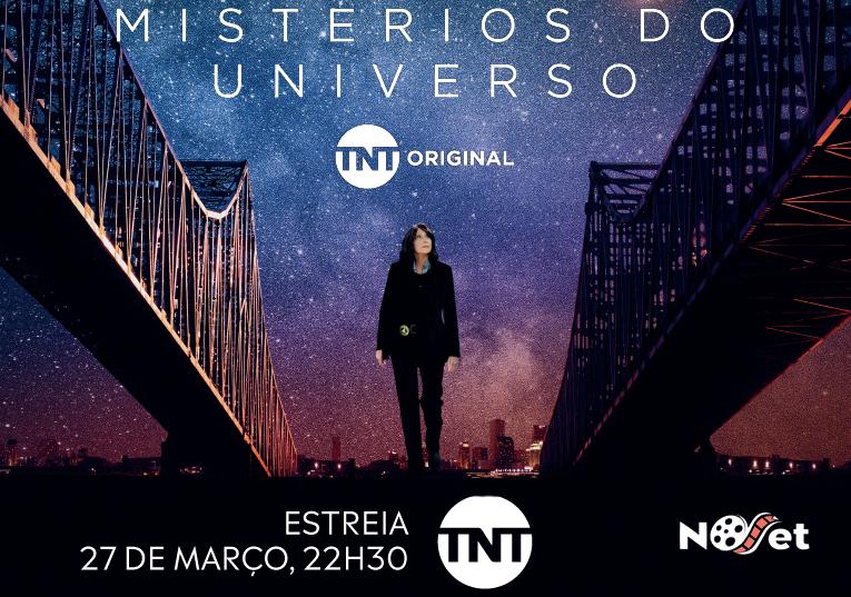 """""""Mistérios do Universo"""", com Patricia Clarkson e Toby Jones, estreia hoje, 27 de março na TNT"""