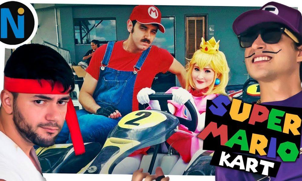 A adulta Web Série do Super Mario Bros no Canal Nerdice.