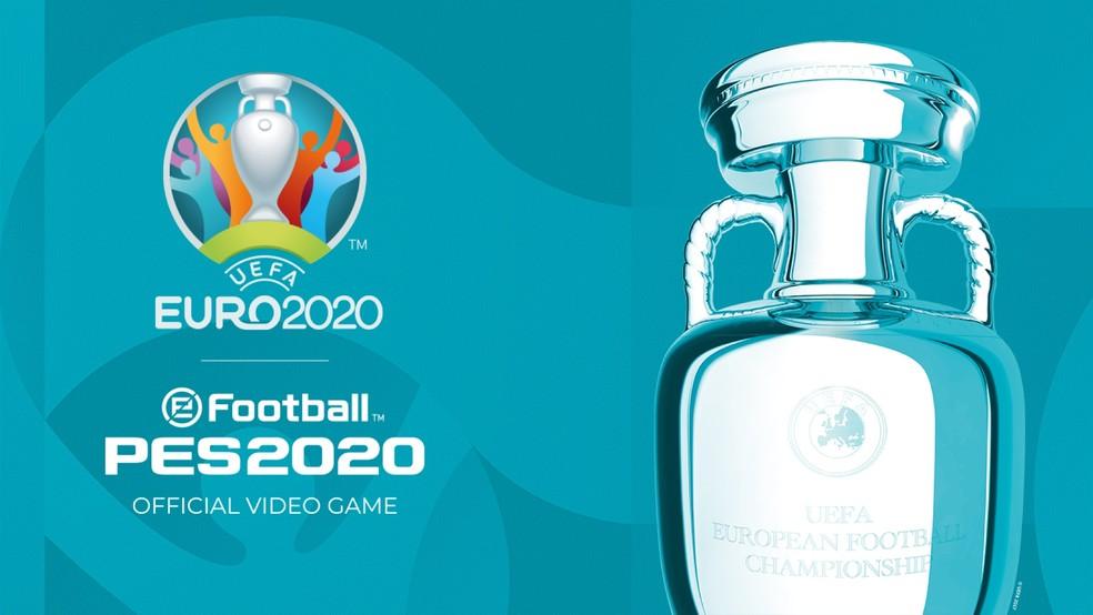 PES 2020: A Konami anuncia data de lançamento da atualização da UEFA EURO 2020