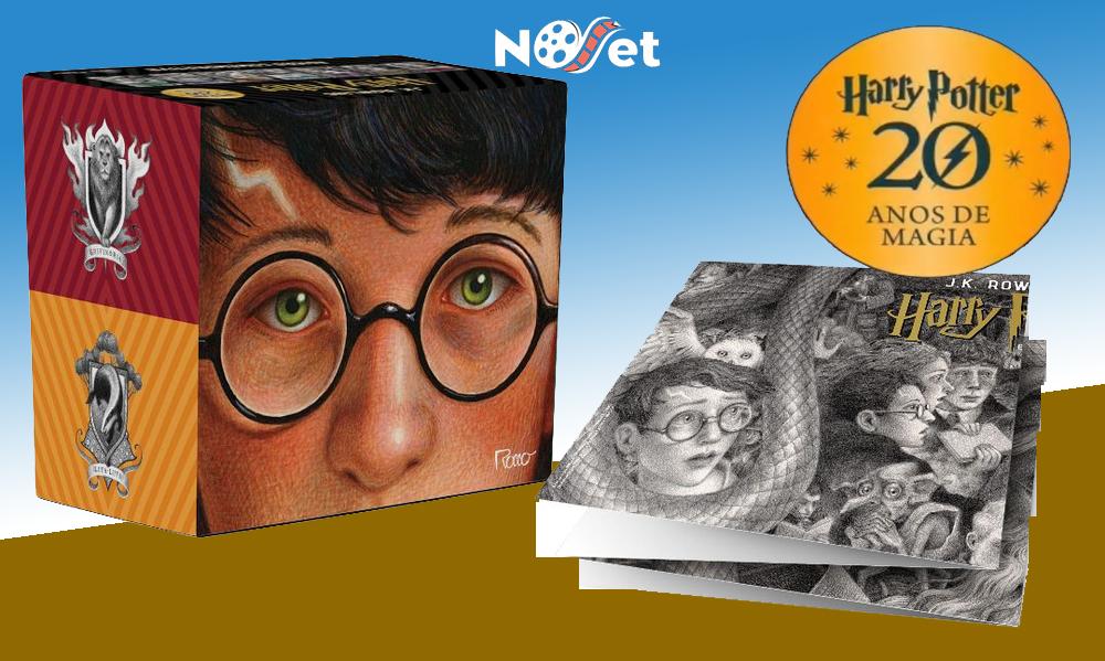 Editora Rocco lança box de luxo em comemoração aos 20 anos de Harry Potter no Brasil. Mas vale a pena?