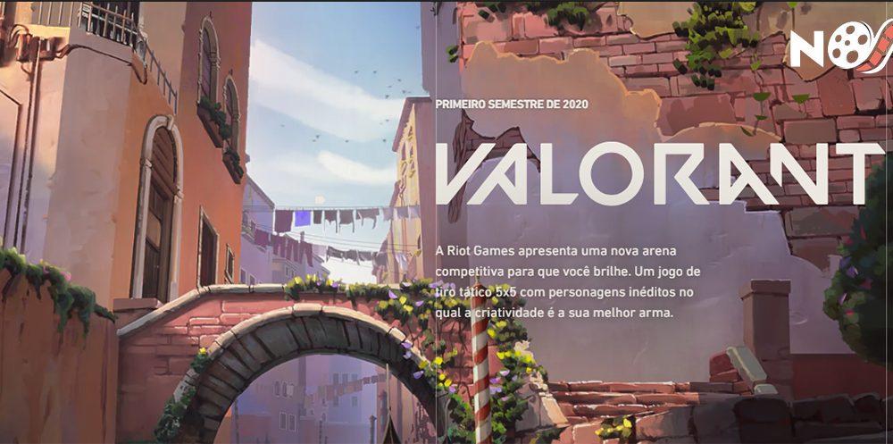 Riot Games anuncia planos iniciais de Esports para Valorant.