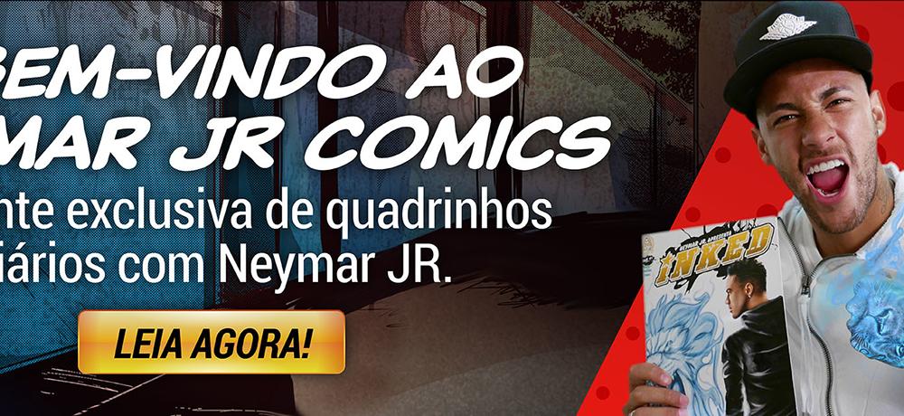 Neymar Jr. lança atividades gratuitas para crianças em sua plataforma NeymarJr Comics