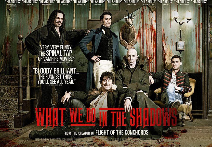 O Que Fazemos nas Sombras: What We Do in the Shadows (Filme e Série)