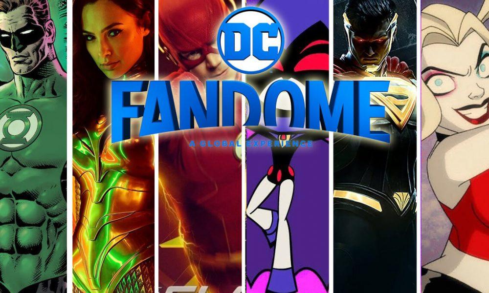 DC FanDome! Uma mega experiência virtual e imersiva de 24 horas para fãs que dará vida ao universo da DC