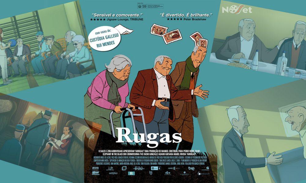 Rugas (Arrugas – 2011). Perfeita e emocionante adaptação da obra-prima de Paco Roca