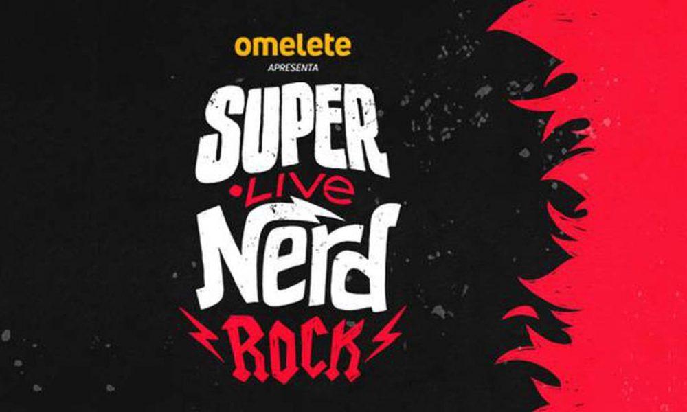 Omelete realiza SuperLiveNerd Rock e arrecada fundos para profissionais da música