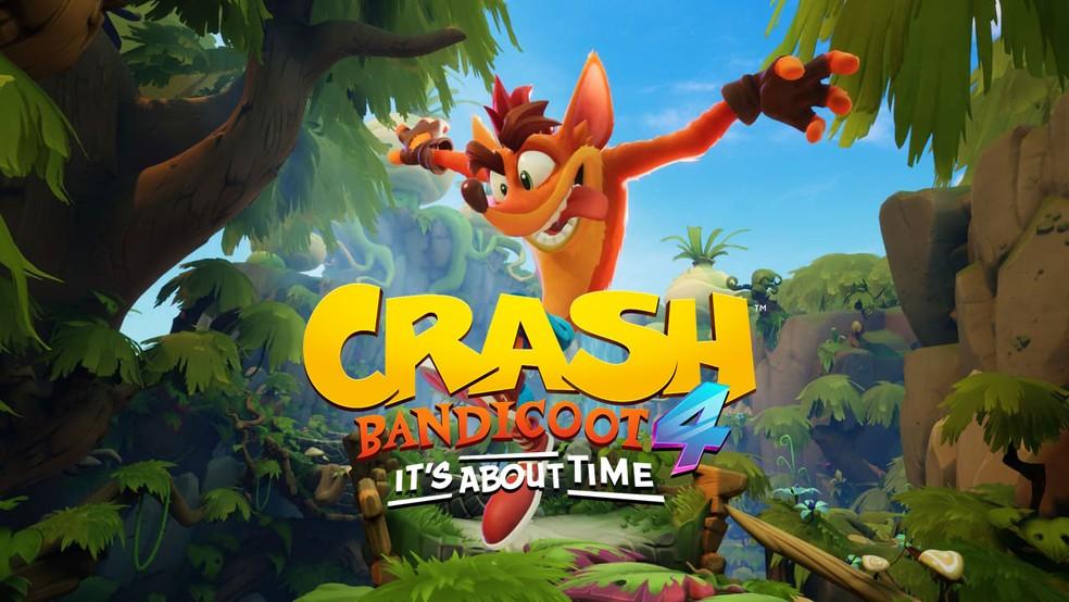 Crash Bandicoot 4: It's About Time foi anunciado!