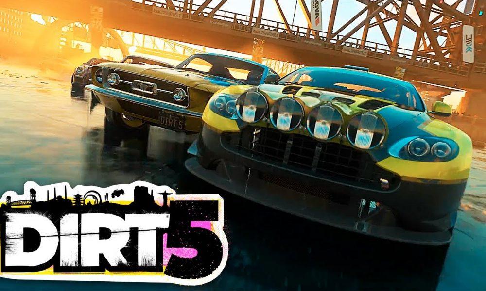 DiRT 5 é anunciado