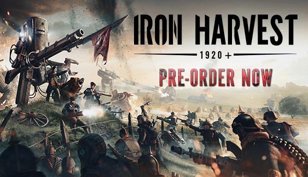 Open Beta e Pré Temporada de Iron Harvest anunciados
