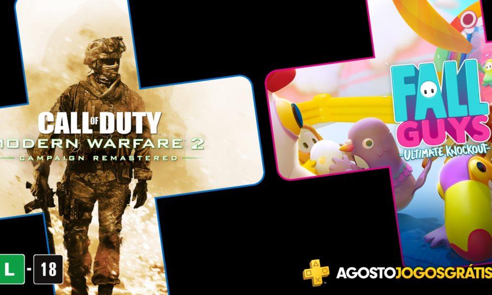 PlayStation revela jogos gratuitos da PS Plus de agosto