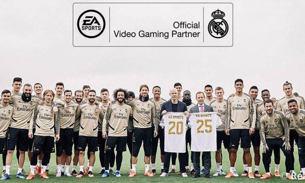 Electronic Arts e Real Madrid F. C. renovam parceria