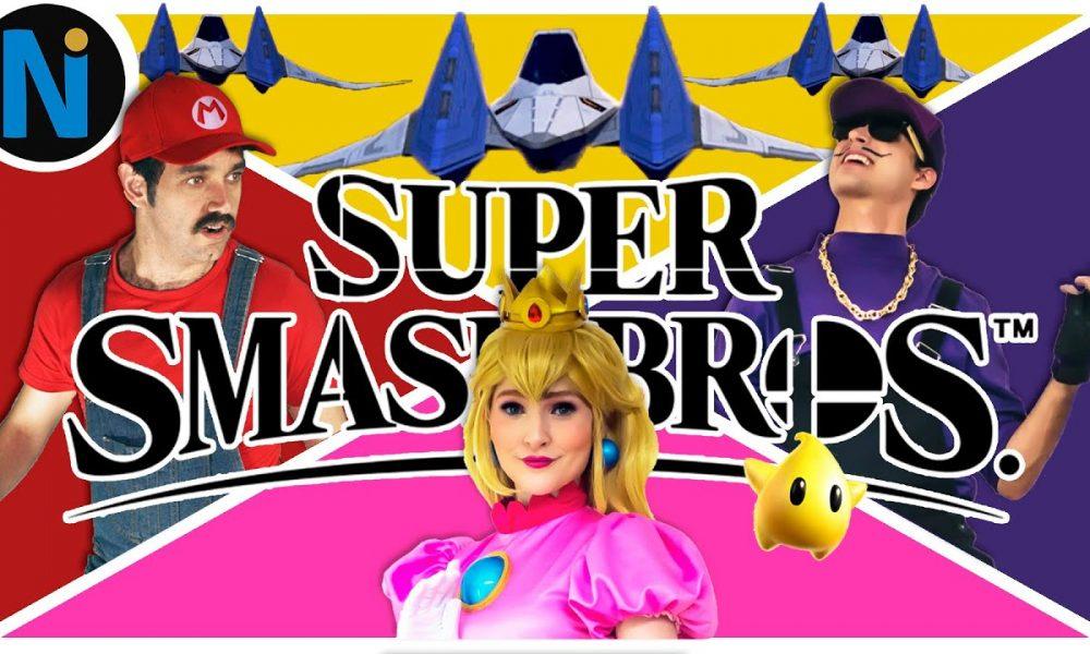 Super Smash Bros do Canal Nerdice: O Fim de uma Saga.