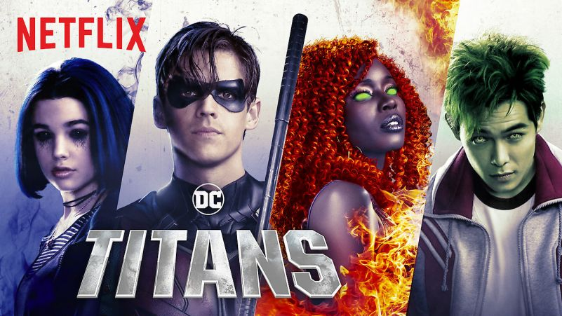 Titans: Os Titãs em Live Action (Segunda Temporada)