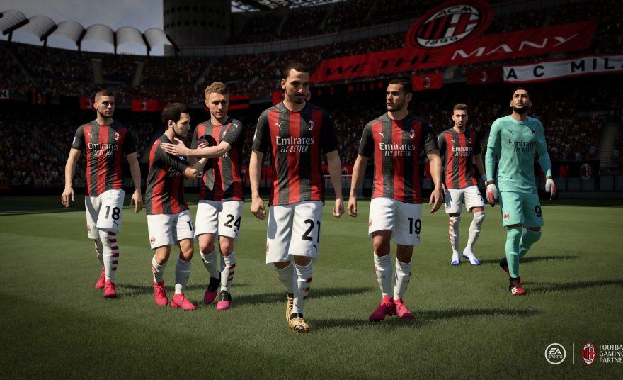 Electronic Arts anuncia parceria premium exclusiva com Milan e Inter de Milão