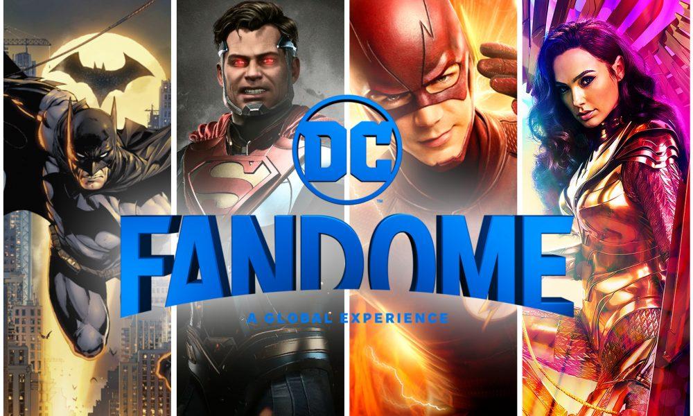 DC FanDome: O Evento Online da DC Comics.