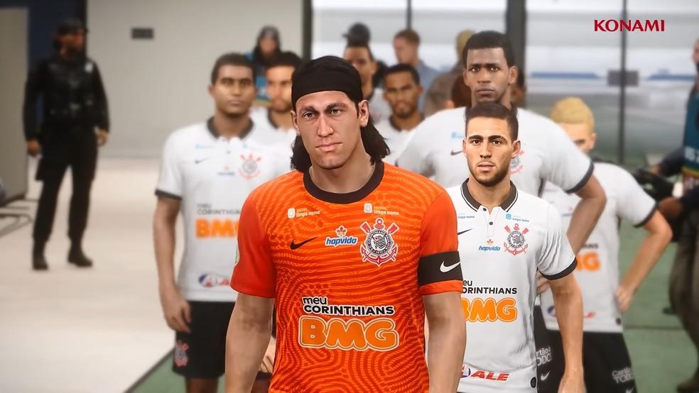 """PES 2021: Konami anuncia renovação com Corinthians """"Vai Corinthians"""""""