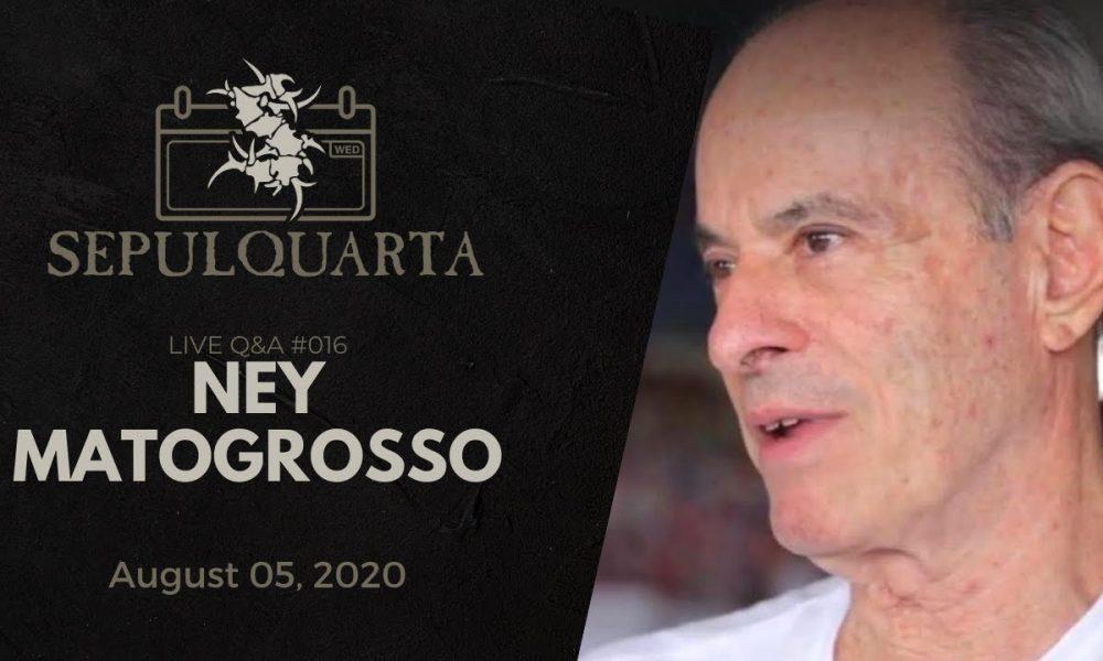 SepulQuarta: Ney Matogrosso é o próximo convidado do Sepultura