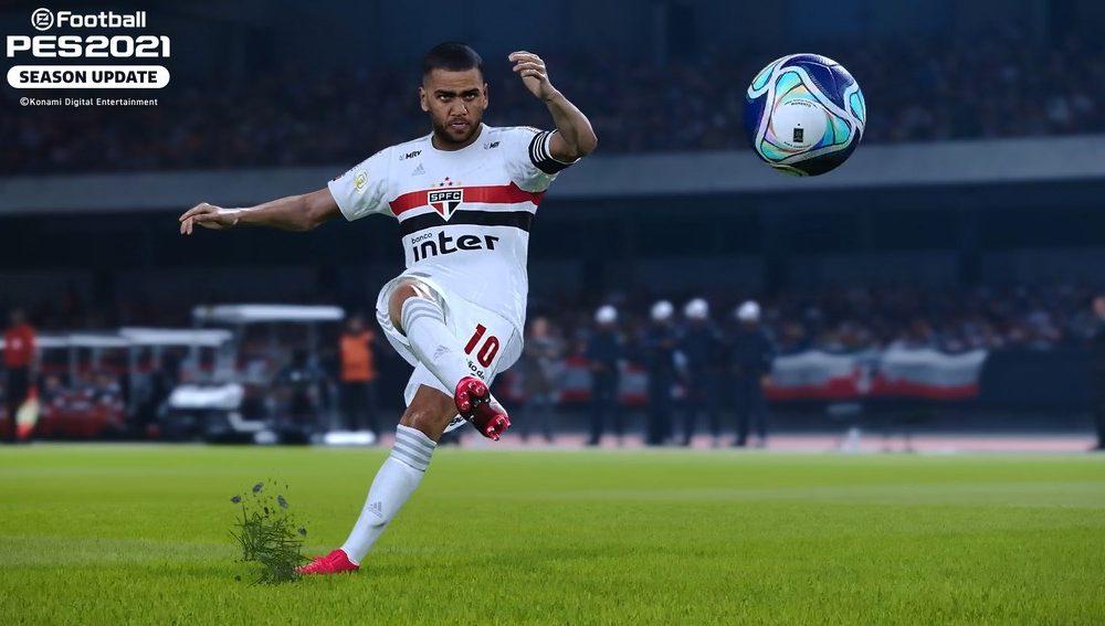 PES 2021: Konami anuncia São Paulo como licenciado para o game