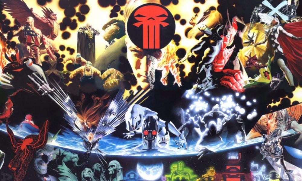 A Trilogia Terra X, Universo X e Paraíso X (HQs Marvel Comics)
