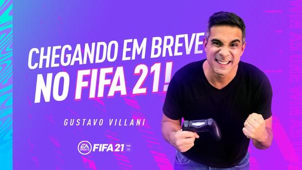 Electronic Arts Anuncia Gustavo Villani Como o Novo Narrador do EA SPORTS FIFA 21