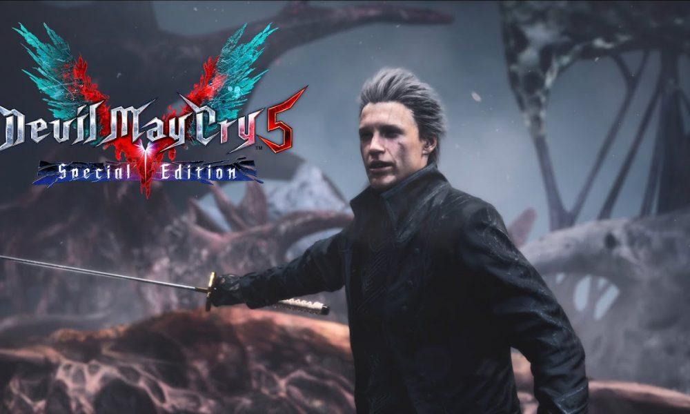 Devil May Cry 5 Special Edition Traz Recursos Inéditos e Vergil Jogável na Nova Geração de Consoles