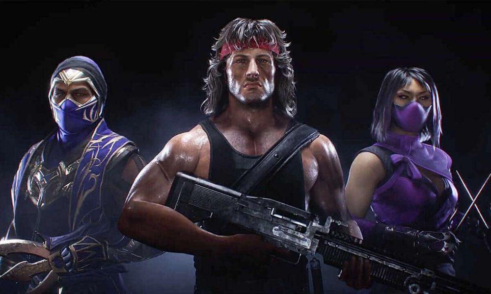 Mortal Kombat 11: Rambo é o novo personagem em novo pacote de atualização