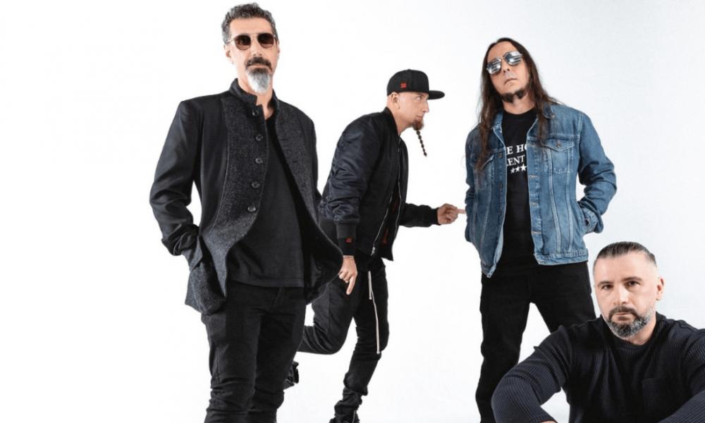 SYSTEM OF A DOWN lança duas músicas inéditas após 15 anos!