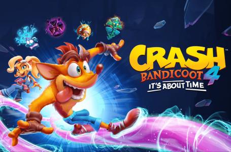 Crash Bandicoot 4: It's About Time em pré-venda na eShop brasileira